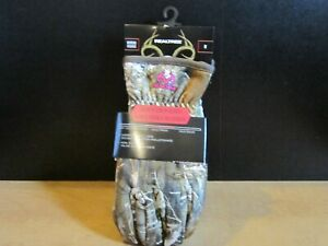 Hunting Gloves Women's (M) Camouflage Realtree Sherpa Lined Gloves -NEW