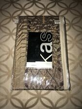 New Kas Romana Standard Sham New Brown Beige Taupe Floral Leaves 20 X 26