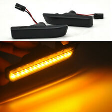 2x Smoke LED Side Markers Indicators Light Fits BMW E53 X5 99-06 BMW E36 97-1998