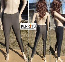 KERRITS crossover full seat riding tights breeches pant brown black women medium