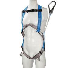Harnais de protection anti-chutes avec longe et crochet pour travail en hauteur