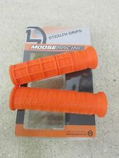 MOOSE ORANGE ATV GRIPS KAWASAKI KFX400 KFX450 BRUTE FORCE BAYOU MOJAVE PRAIRIE