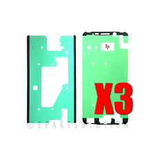 3X Samsung Galaxy S6 Edge Plus G928 LCD Pre-Cut Adhesive Double Sided Tape USA