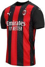 Zlatan Ibrahimovic #11 20-21 AC Milan Men`s Home Soccer Jersey Colour Red/Black