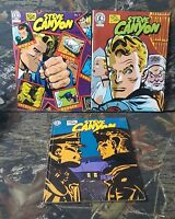 3 pc Steve Canyon Lot  Kitchen Sink Comix Issue No 1, 2 & 16 Milton Caniff's CS