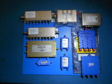 JFW Industries RF Variable Attenuator & Assorted splitters/couplers Lot of 10