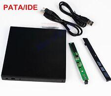External USB Case Enclosure For Laptop 12.7mm IDE PATA CD DVD Optical Drive