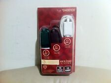 New Holiday Living  3 Count Outlet Extension Cords in 6', 9' and 12'