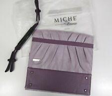 Miche Classic Purse Shell Emmie and Purple Straps Nwt (E3)
