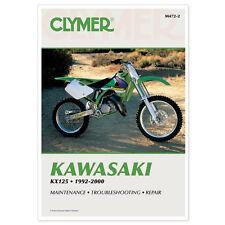 KAWASAKI KX125, KX 125 SERVICE REPAIR SHOP MANUAL BOOK 92-00, M472-2