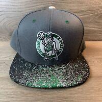 Boston Celtics Mitchell and Ness NBA Hardwood Classics Snapback Cap Hat M&N