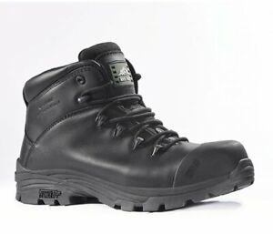 ROCKFALL DENVER 2 WATERPROOF SAFETY BOOTS IN BLACK UK Size 9 / 11