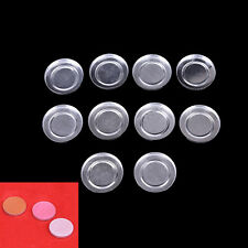 26.5mm 10Pcs Empty Round Aluminium Cases Pans for Powder Eyeshadow EP