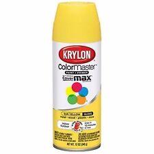 Krylon 51806 Sun Yellow Interior and Exterior Decorator Paint - 12 oz. (M2214)