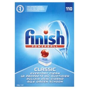 Finish Classic Dishwasher Tablets, 110 Tabs, Pack of 1