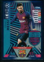 Lionel Messi 2018-19 Topps UEFA Champions League Match Attax Limited Edition