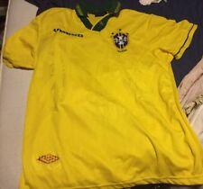 BRASILE Calcio Casa Maglietta XL 1994