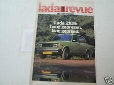 LADA REVUE UITGAVE 1-1983 LADA 2105,1200-2,STATIONCAR,BESTEL,NIVA 2121,1600 GL
