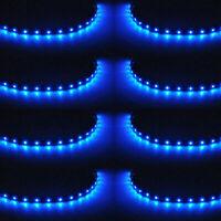 8 Stück 12V 15-LED 30cm Auto KFZ Wasserdicht LED Lichtleiste Balken SMD Streifen