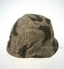 WWII German Military M35 M40 Helmet Cover Swamp Camouflage Cover Cloth