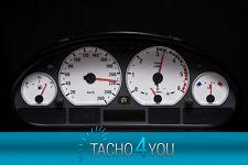 BMW Tachoscheibe Tacho E46 Benzin oder Diesel M3 WEIß 3087 Tachoscheiben WEISS