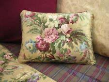 NEW Custom Ralph Lauren Adriana Floral Accent Pillow 2 Button