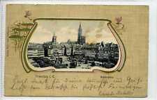 (Gr550-402) Kleberplatz, STRASSBURG, France / Germany 1902 Used G-VG