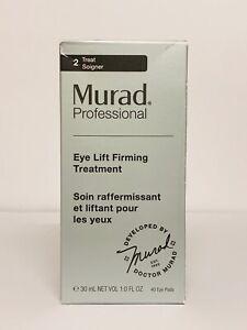 Murad Eye Lift Firming Treatment 30 mL / 1 oz & 40 Pads - Anti-Aging Serum NIB