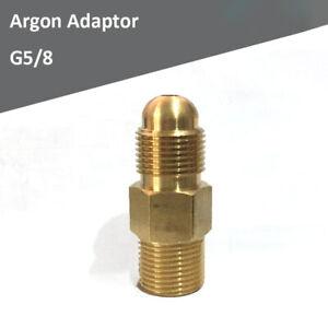 G5/8 ARGON CO2 ADAPTOR C02 REGULATOR WELDING CONVERSION KIT