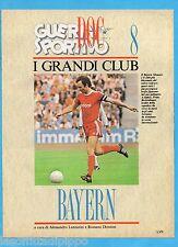GUERIN SPORTIVO-1991- I GRANDI CLUB-8- BAYERN MONACO cover BECKENBAUER