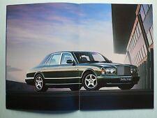 Prospekt Bentley Arnage 4 1/2 litre, 1.1998, 20 Seiten, sehr groß, Hochglanz