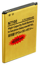 Gold Extended Samsung Galaxy Note 2 High Capacity Battery, 4200 mAh