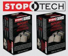 [FRONT + REAR SET] STOPTECH Sport Performance Disc Brake Pads STP37718 Z06