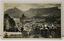 Capetown from Signal Hill VIntage Postcard D18