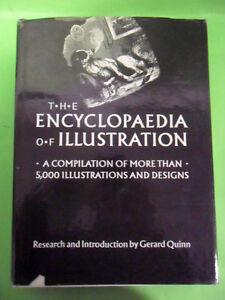 GERALD QUINN.THE ENCYCLOPAEDIA OF ILLUSTRATION.5000 DESIGNS.STUDIO EDITIONS 1990