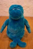 """Dr. Seuss BLUE FISH 12"""" Plush Stuffed Animal Kohl's Cares"""