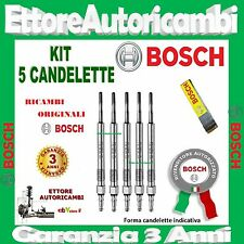 5 CANDELETTE BOSCH VOLVO V70 II (P80) 2.5TDI 103KW DAL 2000 AL 2001 0250202022