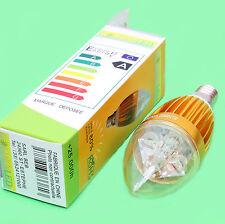 AMPOULE LED LAMPE FLAMME BLANC CHAUD 500LM +80% D'ECONOMIE 220V 5W éq 40W E14