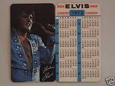 1973 Elvis Presley Wallet Calendar Near Mint/Mint Cond.