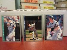 1993 Fleer baseball pick 40 cards ex-nm