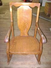 Antique Rocking Chair Wooden