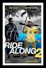 ICE CUBE & KEVIN HART - RIDE ALONG 2 AUTOGRAPHED SIGNED & FRAMED PP POSTER PHOTO