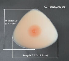 Hot Silicone Fake Breast Forms For Women's Flat Chest Enhancer 1400g Boobs Cup