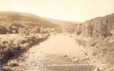 Blenheim New York Schoharie River Real Photo Antique Postcard K55390