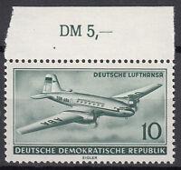 DDR 1956 Mi. Nr. 513 mit Oberrand Postfrisch (24916)