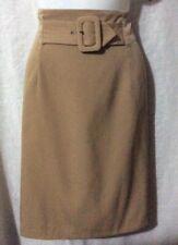 Stunning Tan Skirt (CUE DESIGN), Size 14