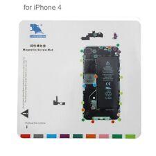 TAVOLETTA MAPPA CALAMITATA PER VITI APPLE IPHONE 4 DISPLAY LCD SMONTAGGIO COVER