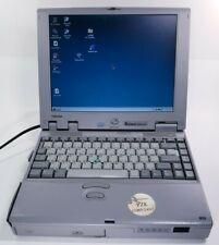 Vintage Toshiba Tecra 500CDT Pentium 1.26GB Laptop Notebook HDD Windows 95 GREAT