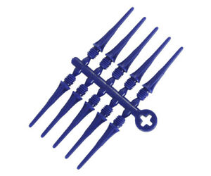 Cosmo Fit Point Plus 50 ct Soft Tip Points for Darts - 2ba - DARK BLUE