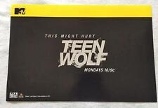 "TEEN WOLF - 13.5""x20"" Original Promo TV Poster SDCC 2013 San Diego Comic Con MTV"